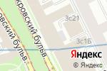 Схема проезда до компании Социальное партнерство в Москве