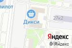 Схема проезда до компании ИнструментПрофСервис в Москве