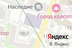 Схема проезда до компании Франжелика в Москве
