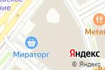 Схема проезда до компании Бургер & Фрайс в Москве