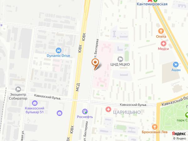 Остановка Ул. Бехтерева, 15 в Москве