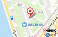 Схема проезда до компании Топтехсервис в Москве
