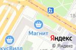 Схема проезда до компании Самоцветовъ в Москве