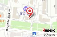 Схема проезда до компании Ресурсинвест в Москве