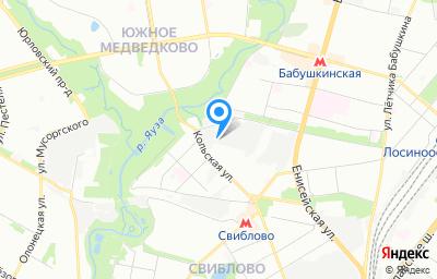 Местоположение на карте пункта техосмотра по адресу г Москва, ул Кольская, д 14 стр 14