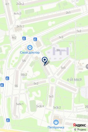 КАФЕ СЮРПРИЗ на карте Москвы