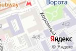 Схема проезда до компании EVA в Москве