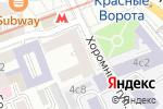 Схема проезда до компании ОРТЕКА в Москве