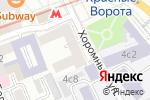 Схема проезда до компании Invicta в Москве