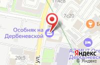 Схема проезда до компании Медиатека в Москве