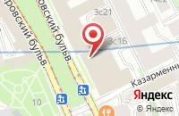 Схема проезда до компании Инвесттехноинновации в Москве
