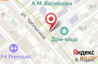 Схема проезда до компании Спецодежда Легион в Москве