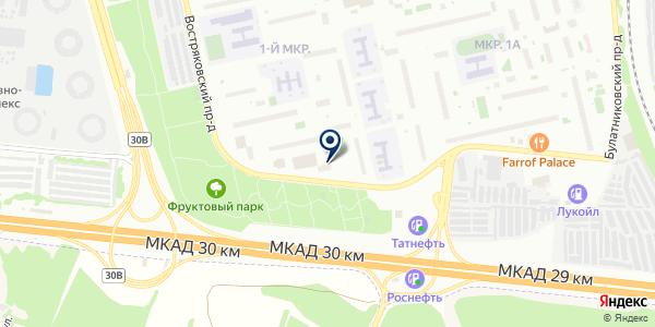 Страховой брокер 123 на карте Москве