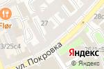 Схема проезда до компании Балмиа-Кадастр в Москве