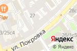 Схема проезда до компании Атон-Менеджмент в Москве