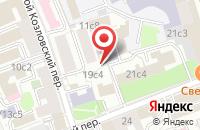 Схема проезда до компании Авэ Тур в Москве