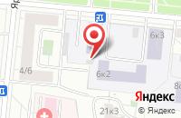 Схема проезда до компании Авенир в Москве