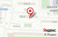 Схема проезда до компании Старая Басманная в Москве