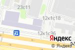 Схема проезда до компании БЕЗОПАСНОСТЬ В ПРОМЫШЛЕННОСТИ в Москве