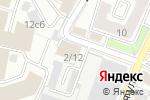 Схема проезда до компании Альфа Раменка в Москве