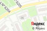Схема проезда до компании АТ-В в Москве