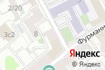Схема проезда до компании Эллис классик в Москве