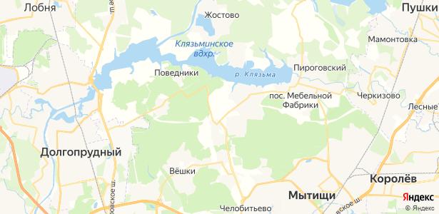 Погорелки на карте