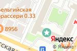 Схема проезда до компании У Красных Ворот в Москве