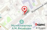 Схема проезда до компании Эйбиси-Про в Москве