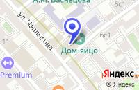 Схема проезда до компании ПАРФЮМЕРНЫЙ МАГАЗИН DIVAGE в Москве