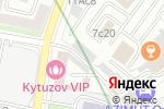 Схема проезда до компании Инвертис в Москве