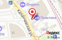 Схема проезда до компании Промавиа в Москве