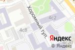 Схема проезда до компании Космические системы мониторинга в Москве
