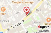 Схема проезда до компании Сретение в Москве