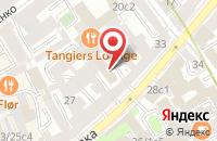 Схема проезда до компании Артдизайн Xxi в Москве