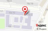 Схема проезда до компании Регистр Сертификации На Федеральном Железнодорожном Транспорте в Москве