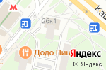 Схема проезда до компании Снеговик в Москве