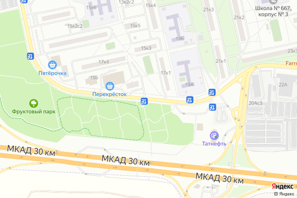 Ремонт телевизоров Востряковский проезд на яндекс карте