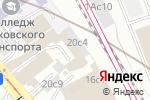 Схема проезда до компании Seven ROOMS в Москве