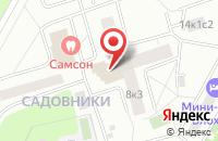 Схема проезда до компании Речреклама в Москве