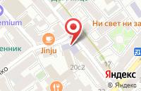 Схема проезда до компании Им Инженеринг в Москве