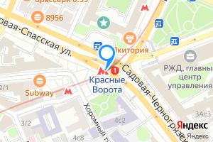 Сдается комната в шестикомнатной квартире в Москве м. Красные ворота, метро Красные Ворота