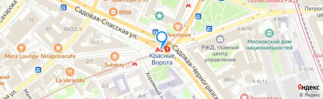 метро Красные Ворота
