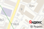 Схема проезда до компании ТехАвто в Москве
