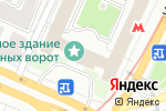 Схема проезда до компании ЭкспертЪ в Москве