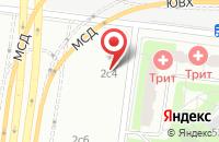 Схема проезда до компании Торгкомплект в Москве