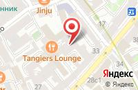 Схема проезда до компании Хутор Буяны в Москве