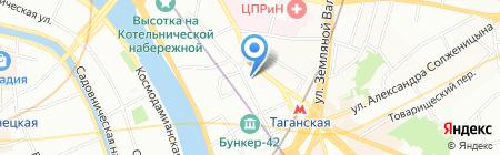 ПРОГРЕСС на карте Москвы