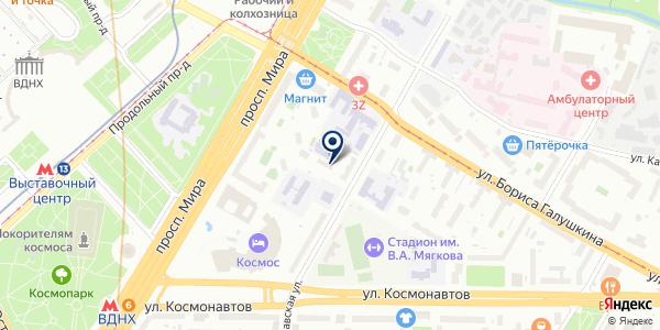 Горячие туры на карте Москве
