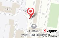Схема проезда до компании Бинарт-Студио в Москве
